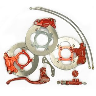 Picture for category Complete kit for seperate braking